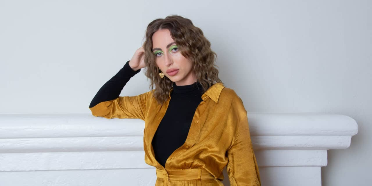 """LA songwriter Jazzie Young dives into her quarantine blues with her video """"Spaghetti Stains"""""""
